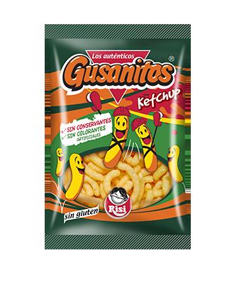 Gusanitos Ketchu