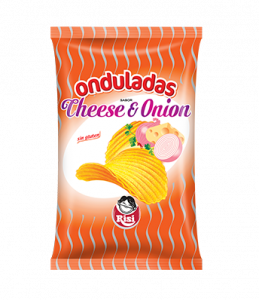 Patatas Onduladas Cheese & Onion