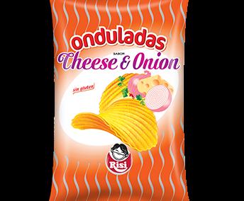 Patatas Onduladas Cheese & Onion