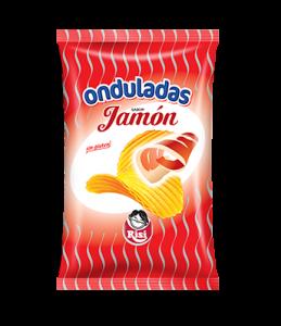 Patatas Onduladas Jamón