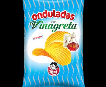 Patatas Onduladas Vinagreta
